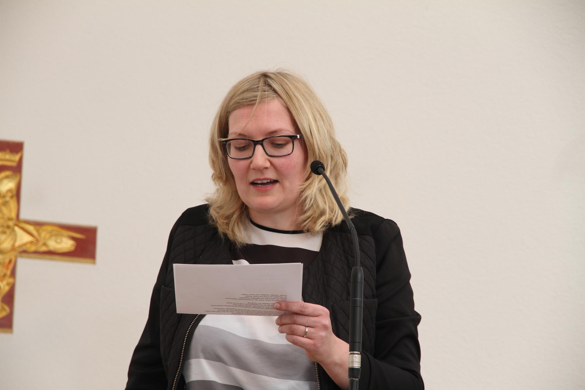 EJN-Vorsitzende Bettina Wehrbach