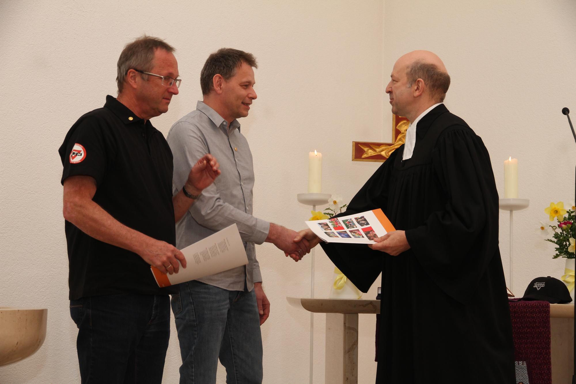 Wolfgang Schulz und Peter Hägele